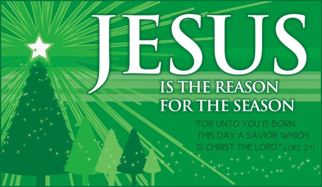 jesus is the reason ecard online card - Jesus Christmas Cards