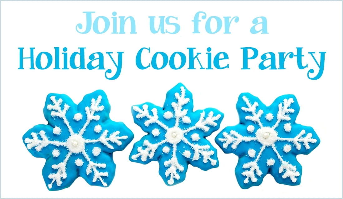 Holiday Cookie Party ecard, online card