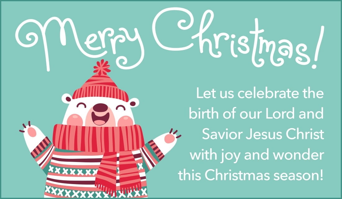 Celebrate Our Lord and Savior ecard, online card