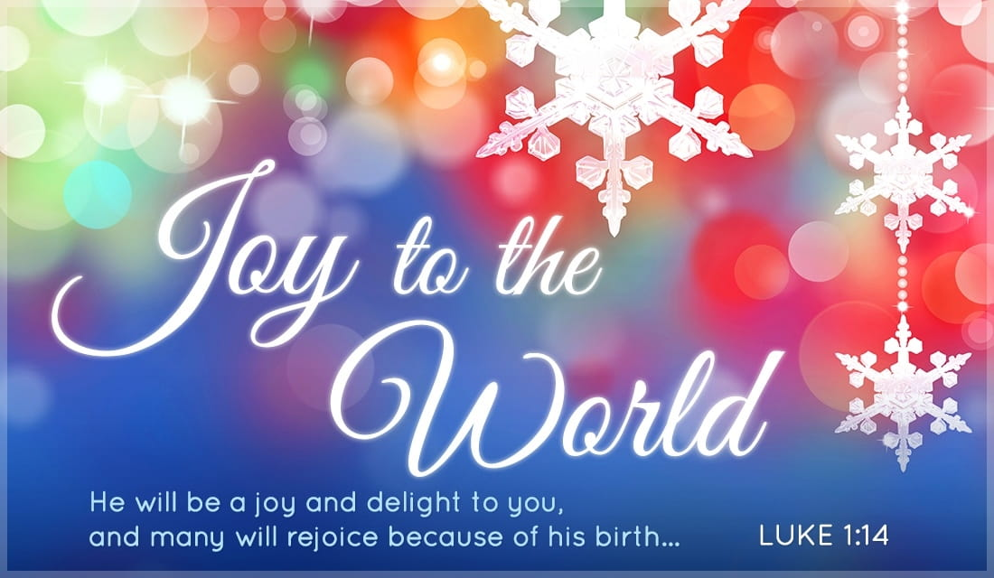 Joy to the World ecard, online card