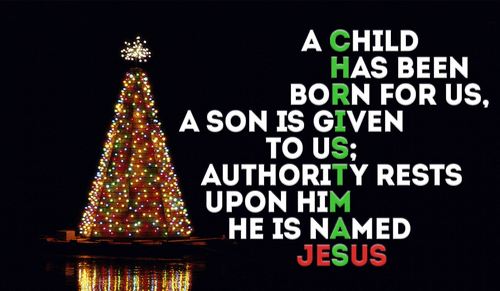 jesus is what christmas is all about - Best Christmas Verses