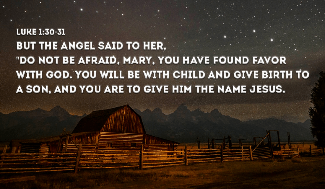 Do you read any Bible verses Christmas morning? - Luke 1:30-31 eCard ...