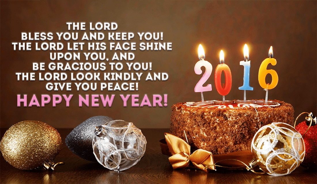 How will you bless those around you this new year? ecard, online card