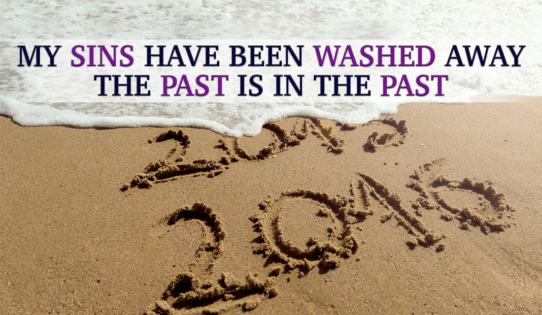 Jesus has washed away my sins! May this new year bring new peace to you! ecard, online card
