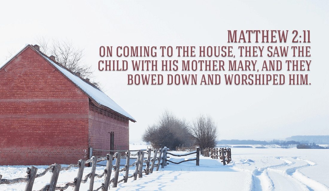 Will you recognize Jesus when you see Him? - Matthew 2:11 ecard, online card