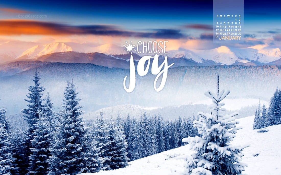 January 2016 - Choose Joy mobile phone wallpaper