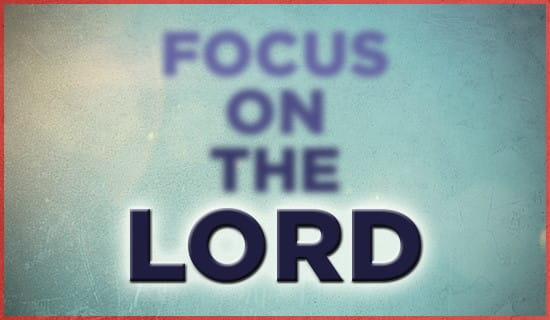 Focus on the LORD ecard, online card