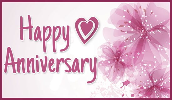 Happy Anniversary! ecard, online card