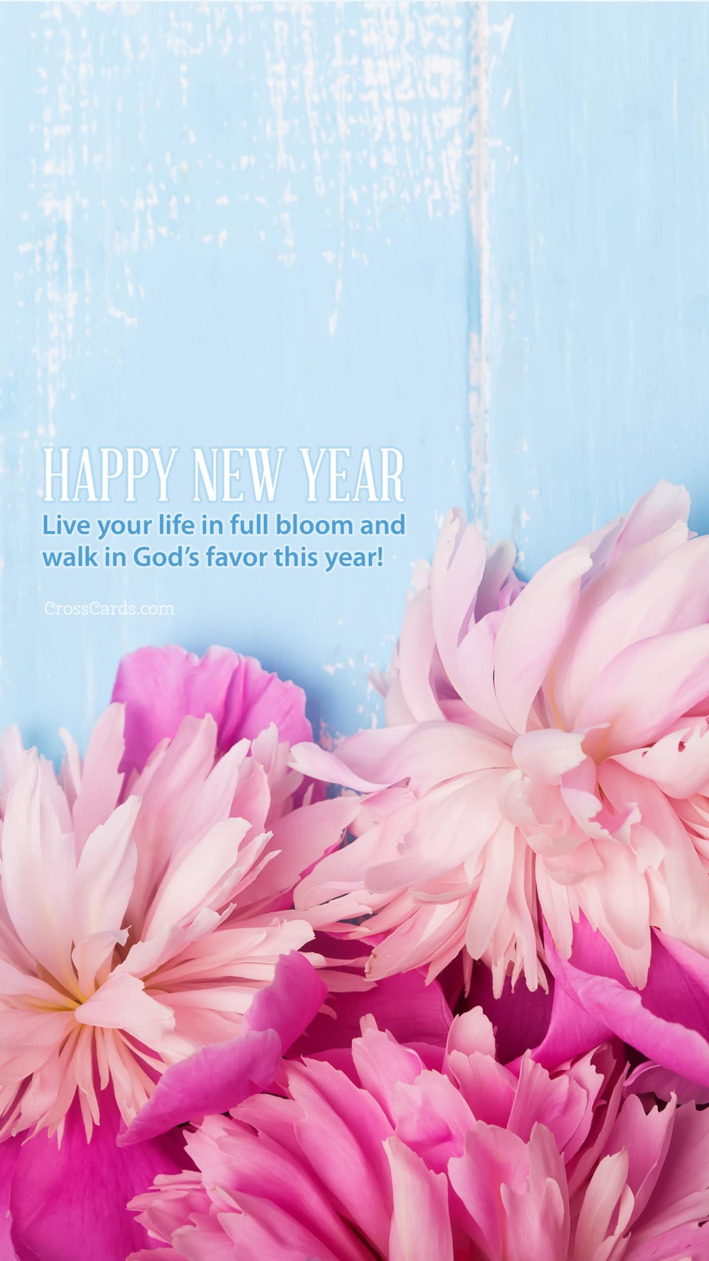 Live Calendar Wallpaper : January live in full bloom desktop calendar free