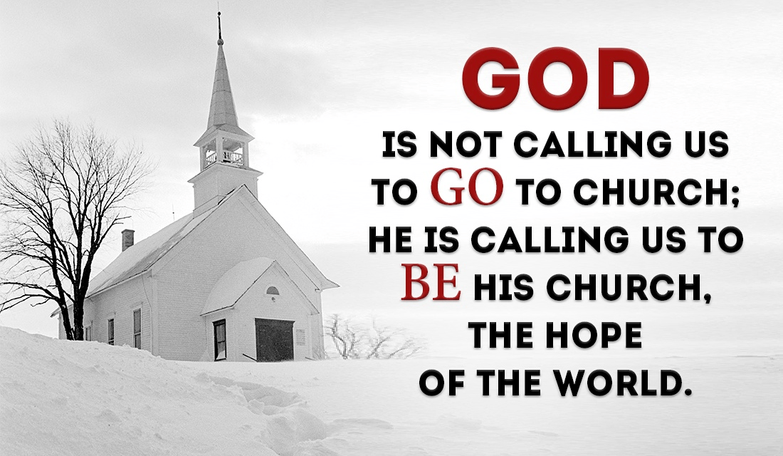 BE the Church you would like to see! ecard, online card