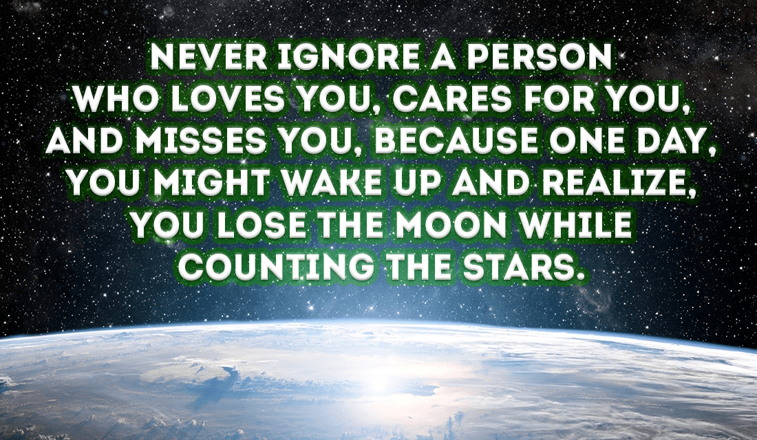 Don't lose the moon, It's the only one we've got ecard, online card