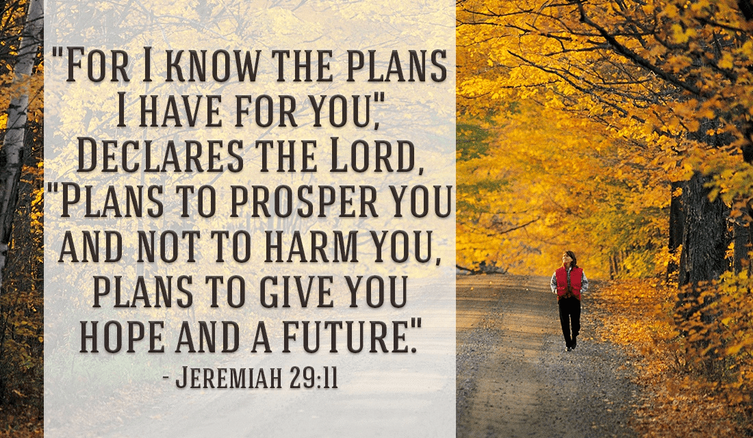 God has great plans for you!  ecard, online card