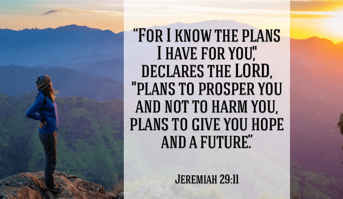 Take heart! You have a future with God! - Jeremiah 29:11 ecard, online card