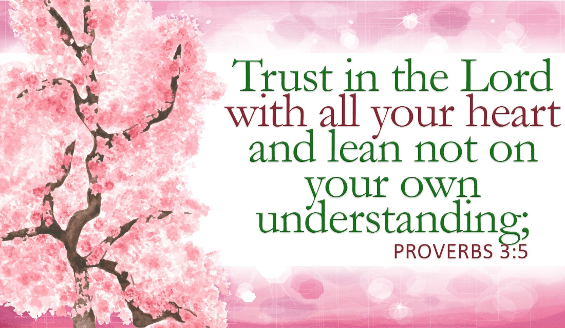 We don't know everything, but luckily, we know someone who does - Proverbs 3:5 ecard, online card