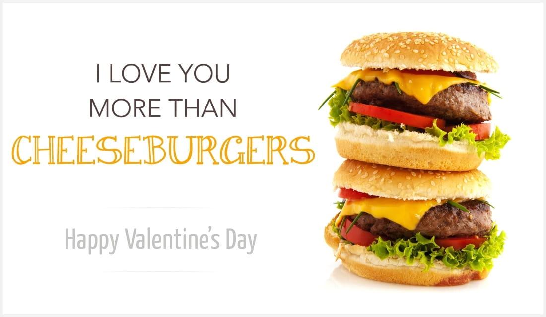 More Than Cheeseburgers ecard, online card