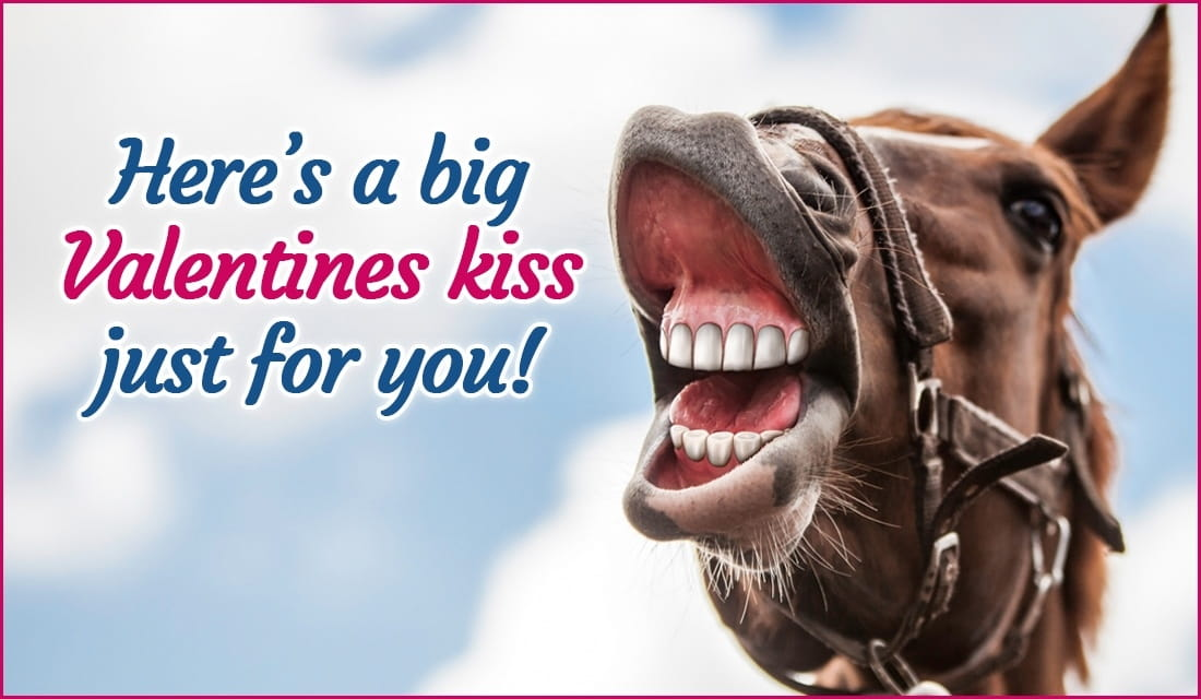 Valentine's Kiss For You ecard, online card