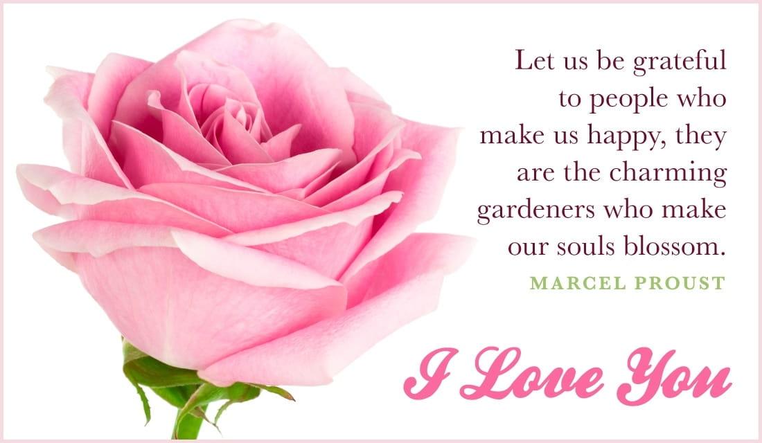 Soul Blossoms ecard, online card