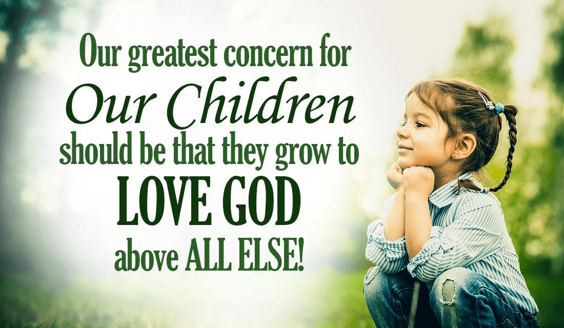 Loving God is ALWAYS the highest priority! ecard, online card