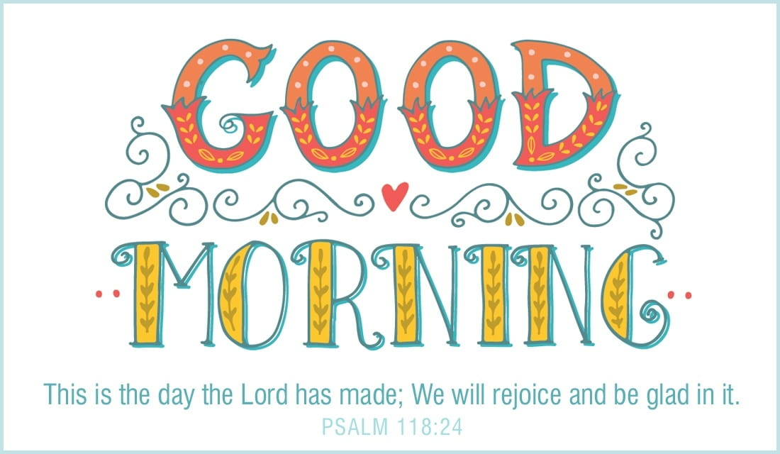 Good Morning - Rejoice  ecard, online card