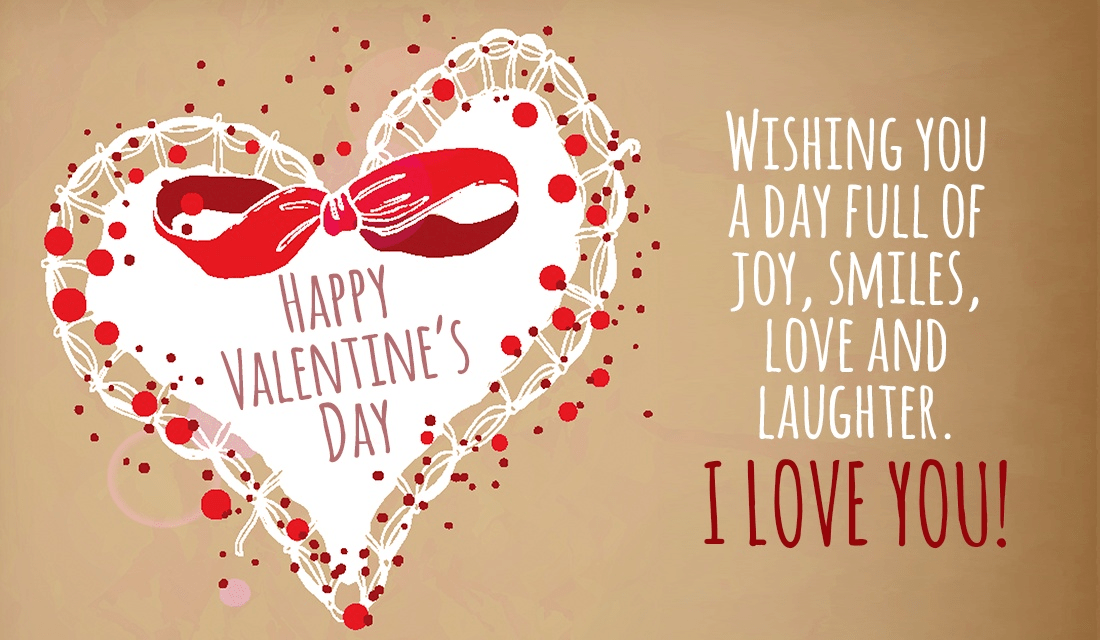Happy Valentines Day! Love you! ecard, online card