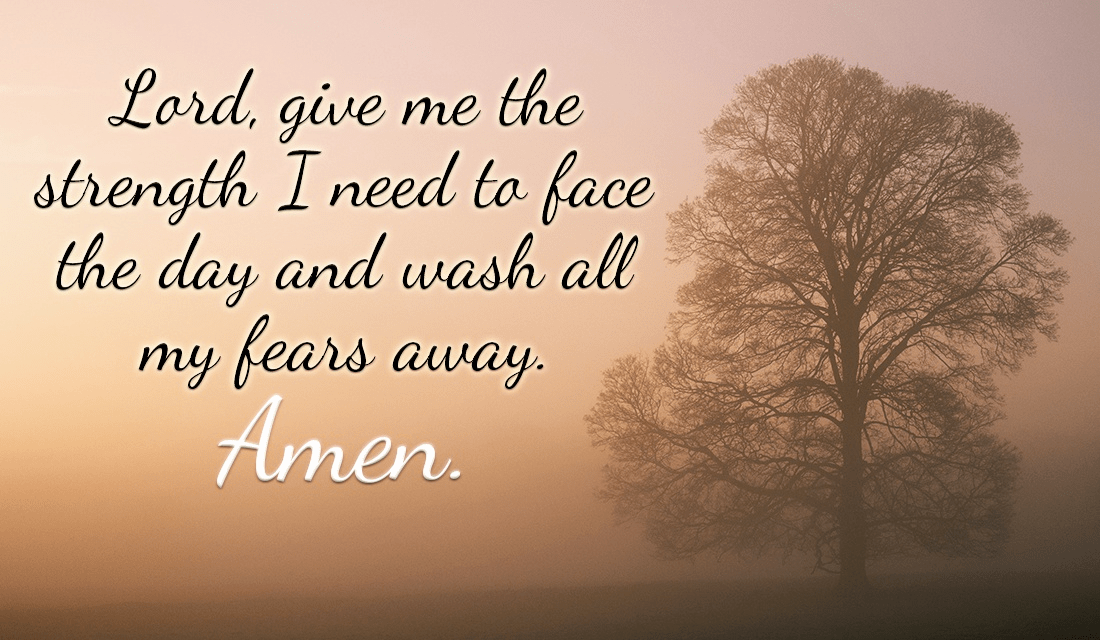 Here's a prayer to start your morning off right! ecard, online card