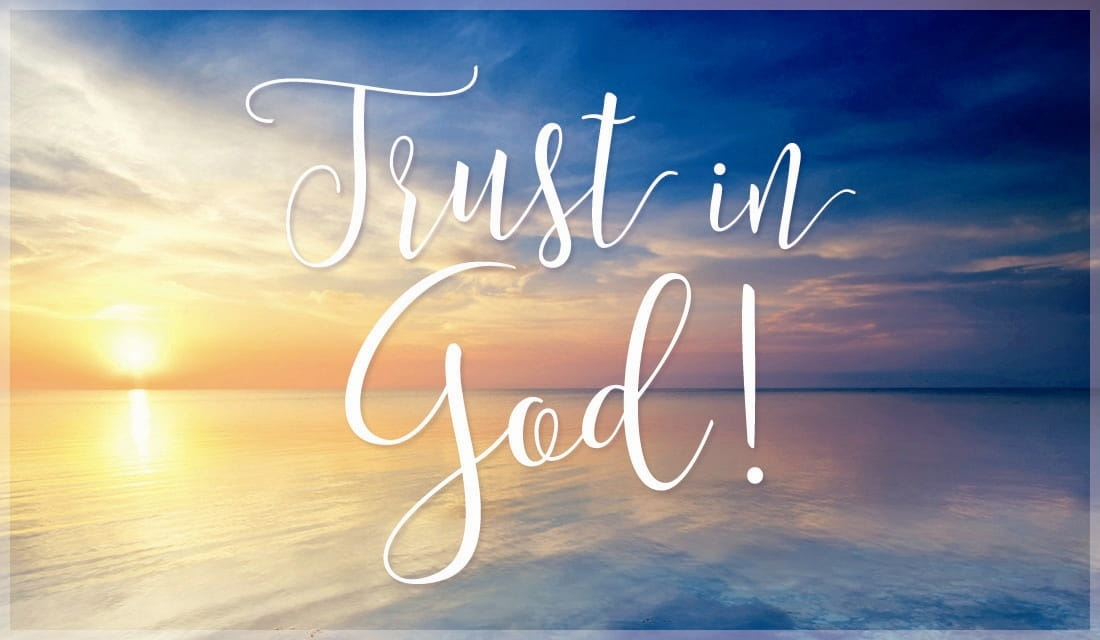 Trust in God ecard, online card