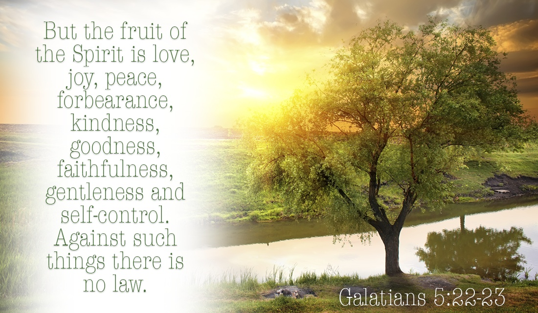Is God's fruit showing through you? - Galatians 5:22-23 ecard, online card