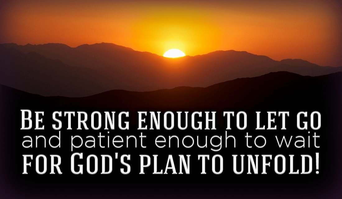 Be strong! God has many things planned for you! ecard, online card
