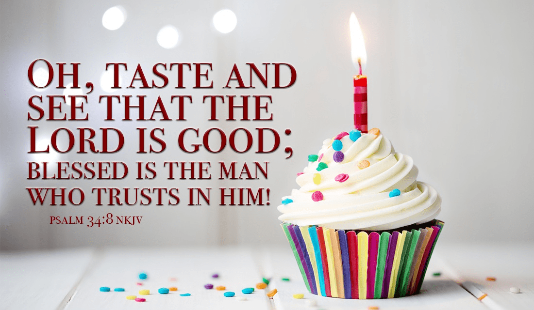 TRUST HIM! - Psalm 34:8 ecard, online card