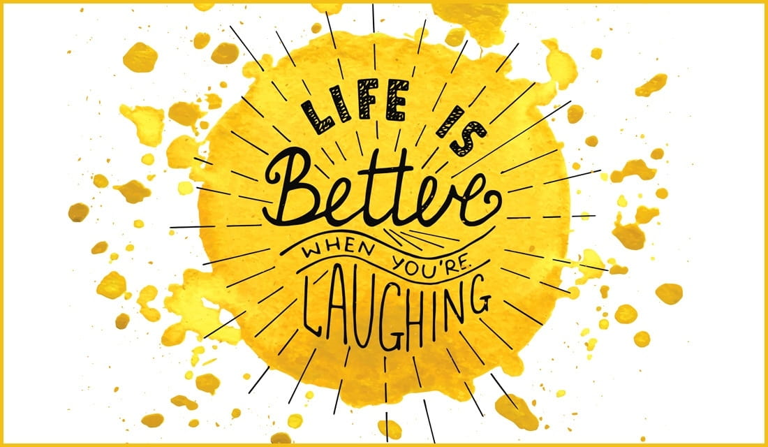 Life is Better When You're Laughing ecard, online card