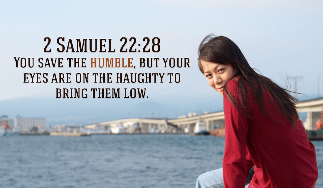What is the context for this verse? - 2 Samuel 22:28 ecard, online card