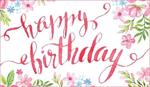 Happy Birthday Flowers Cards Flowers Ideas