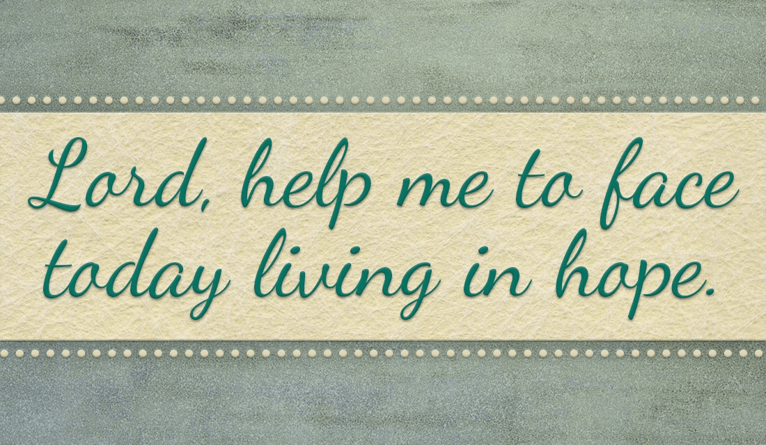 Help me to bring hope to others today! Amen ecard, online card