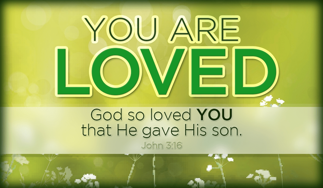 Please remember that God loves YOU. Specifically. YOU. Never forget! ecard, online card