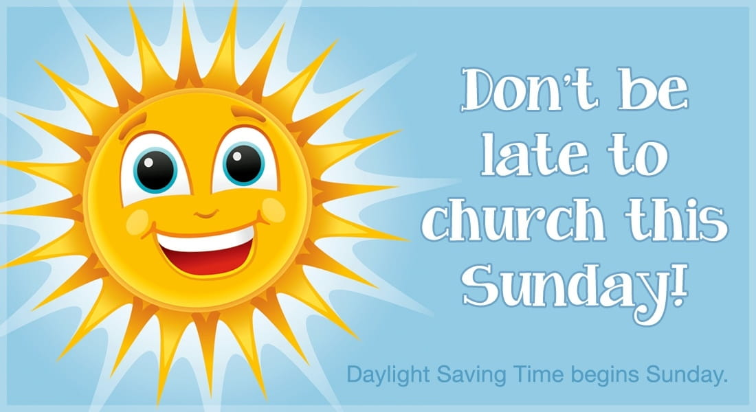 Don't Be Late to Church this Sunday! ecard, online card