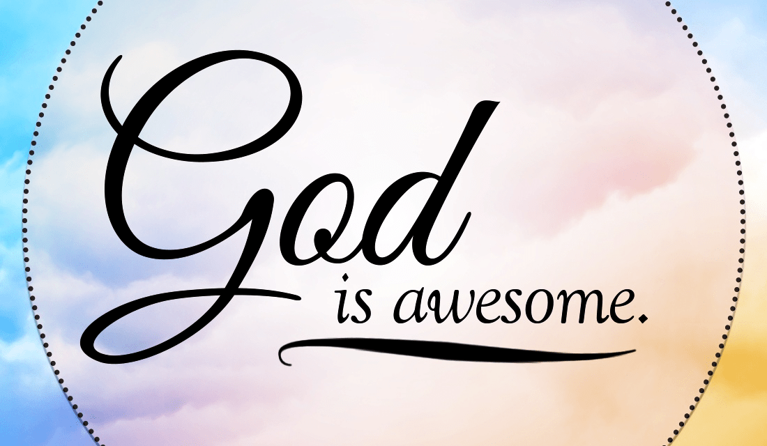 What are some ways God has been awesome for you? ecard, online card