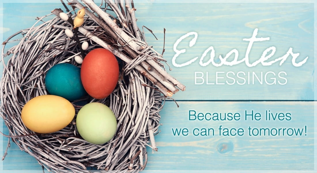 Easter Blessings - He Lives! ecard, online card