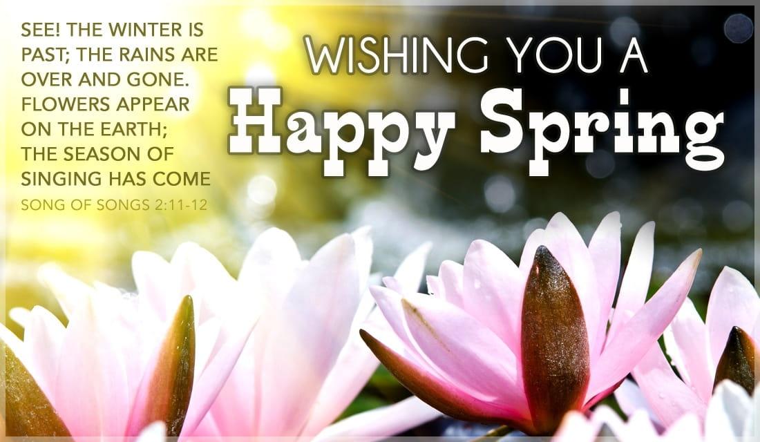 Happy Spring ecard, online card