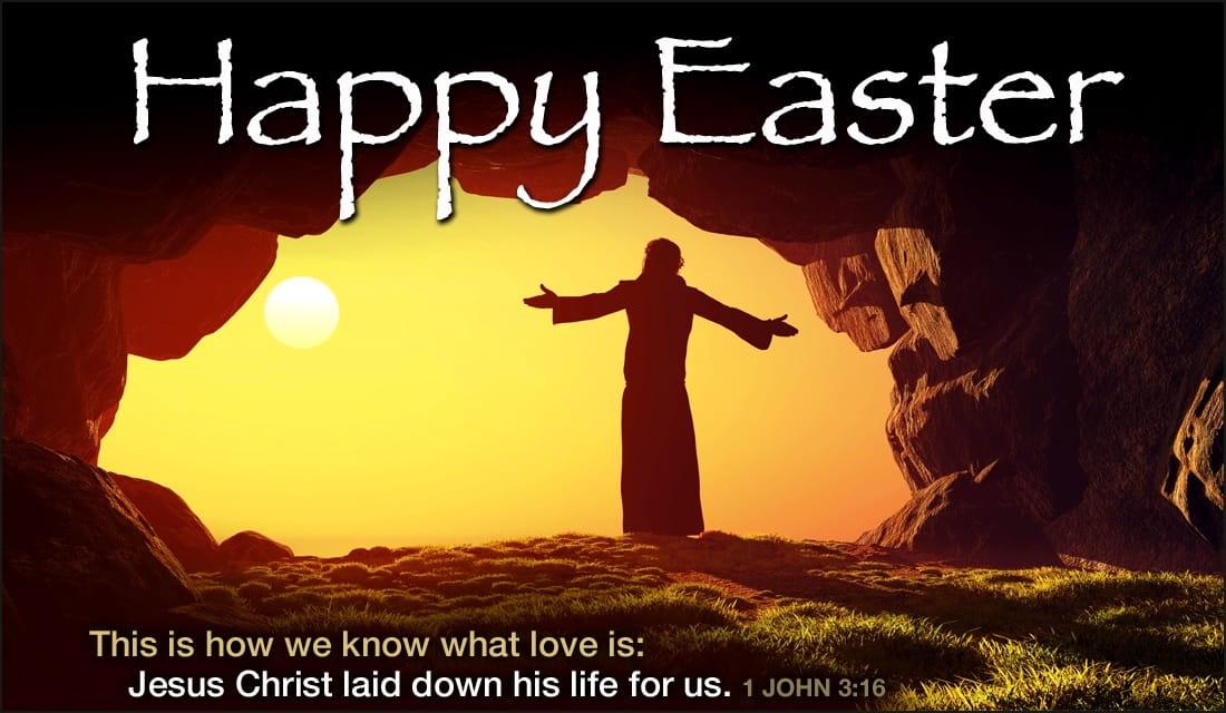 Happy Easter ecard, online card