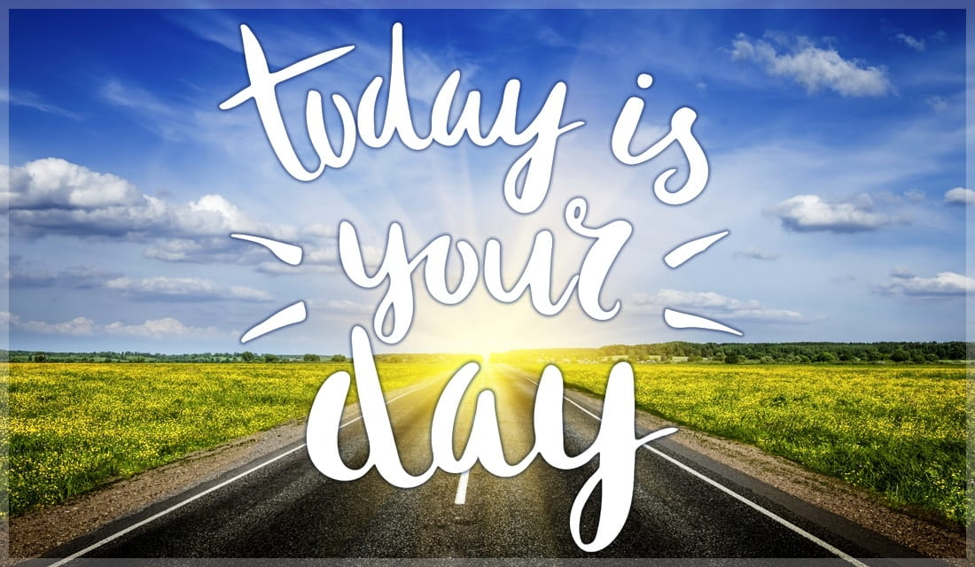 Today is Your Day ecard, online card