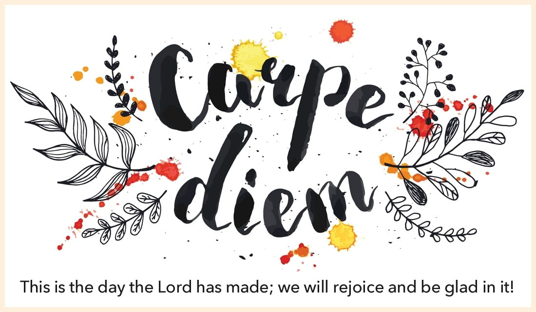 Carpe Diem - Psalm 118:24 ecard, online card