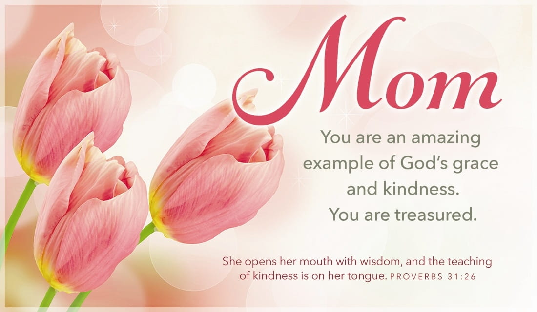 Example of God's Grace and Kindness ecard, online card