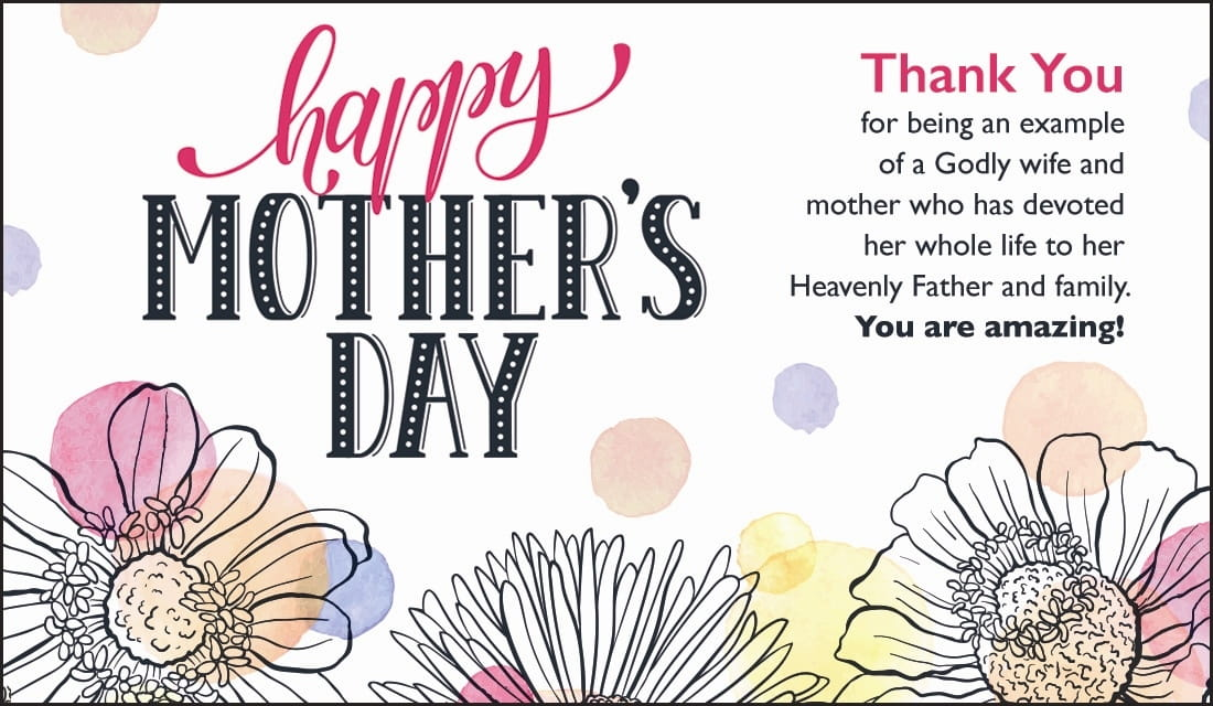 Happy Mother's Day - Thank You Mom ecard, online card