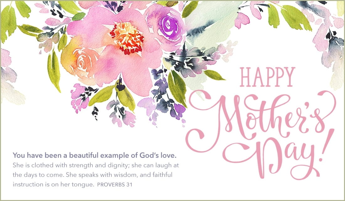 Happy Mother's Day - Example God's Love ecard, online card