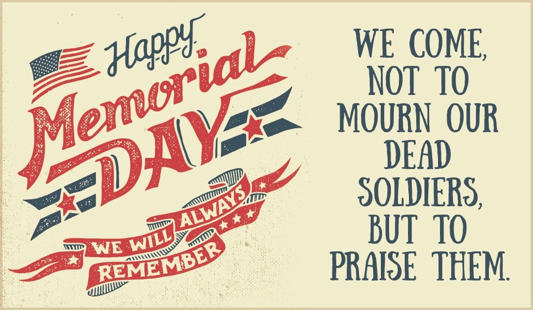 Happy Memorial Day  ecard, online card