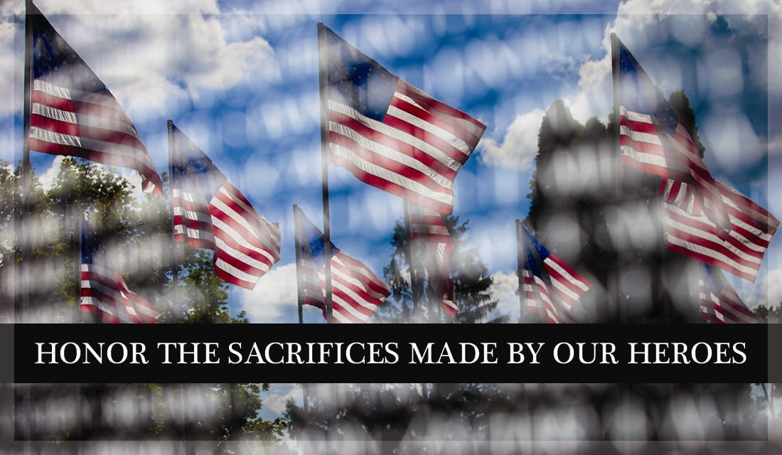 Honor The Sacrifices Made By Our Heroes ecard, online card