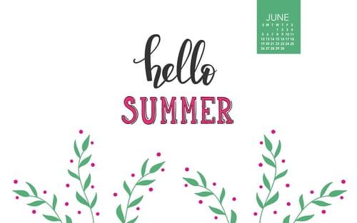 Beautiful June Desktop Mobile Wallpaper
