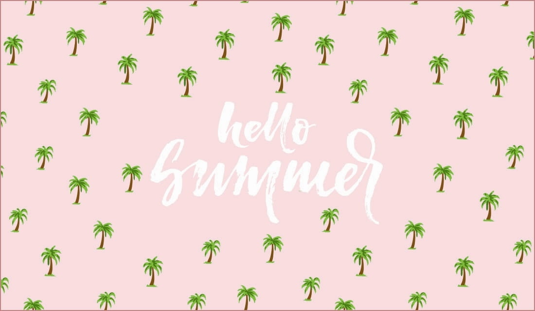 Hello Summer ecard, online card