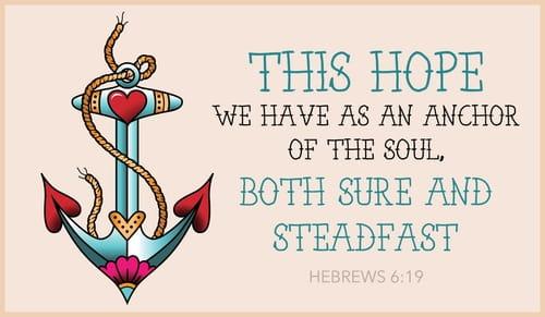 Bible Verses · Hebrews 6:19