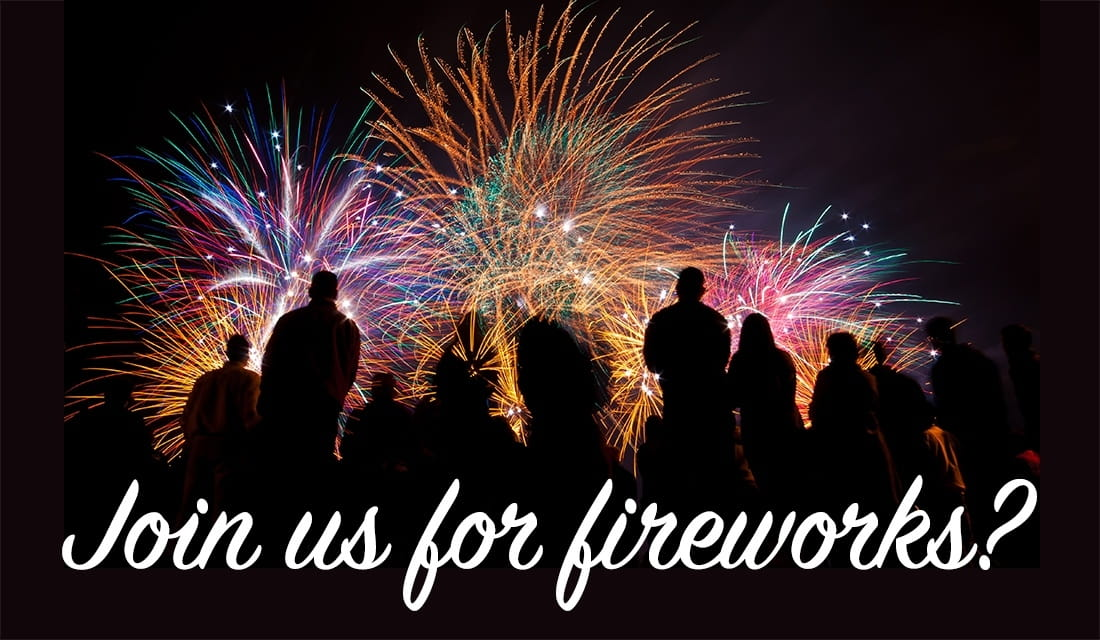 Join Us for Fireworks ecard, online card